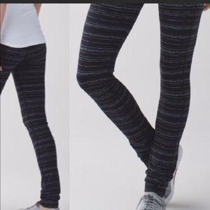 Lululemon Skinny Grove Pant II Cyber Stripe Pant